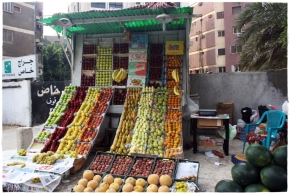 fruit vendor maadi